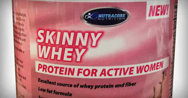 Drink pink protein! Girls need special protein!