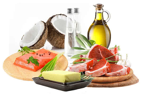 Basic ingredients of a ketogenic diet