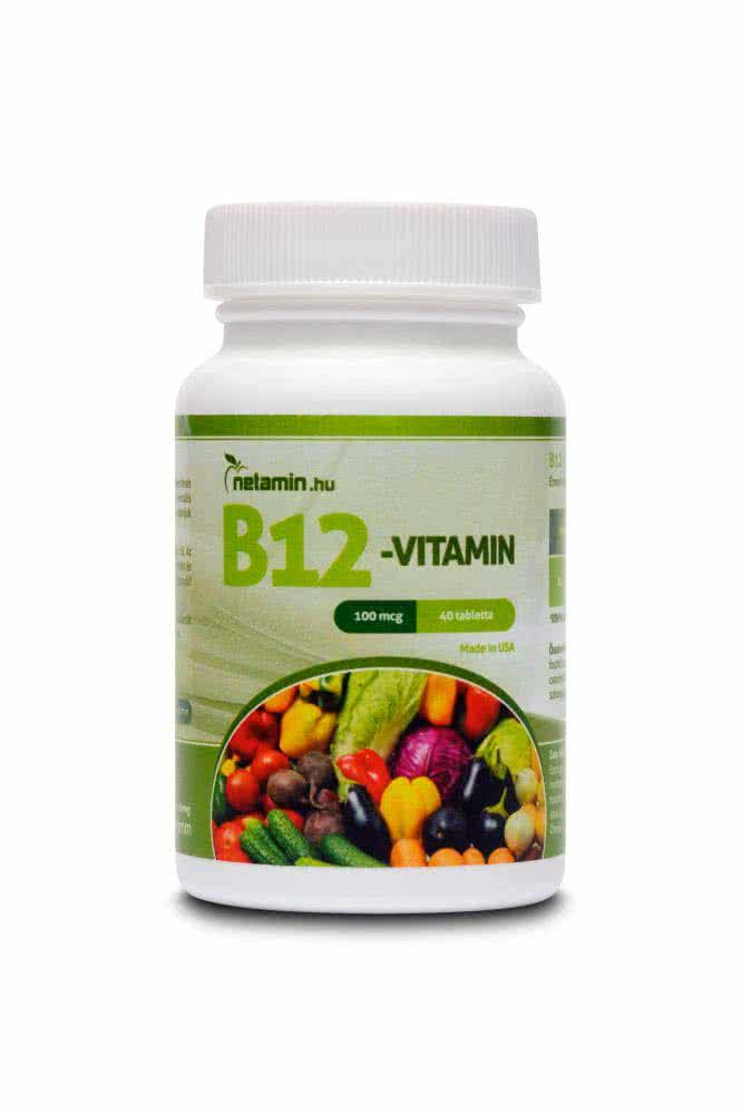 Netamin Vitamin B12 40 caps