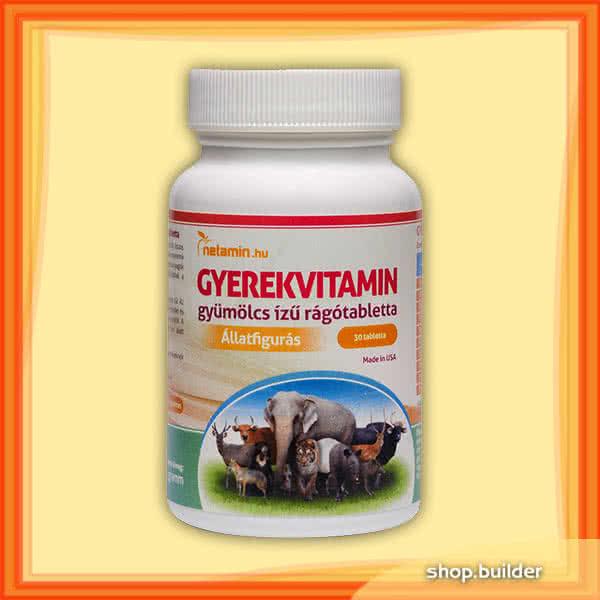 Netamin Childrens vitamins 30 caps
