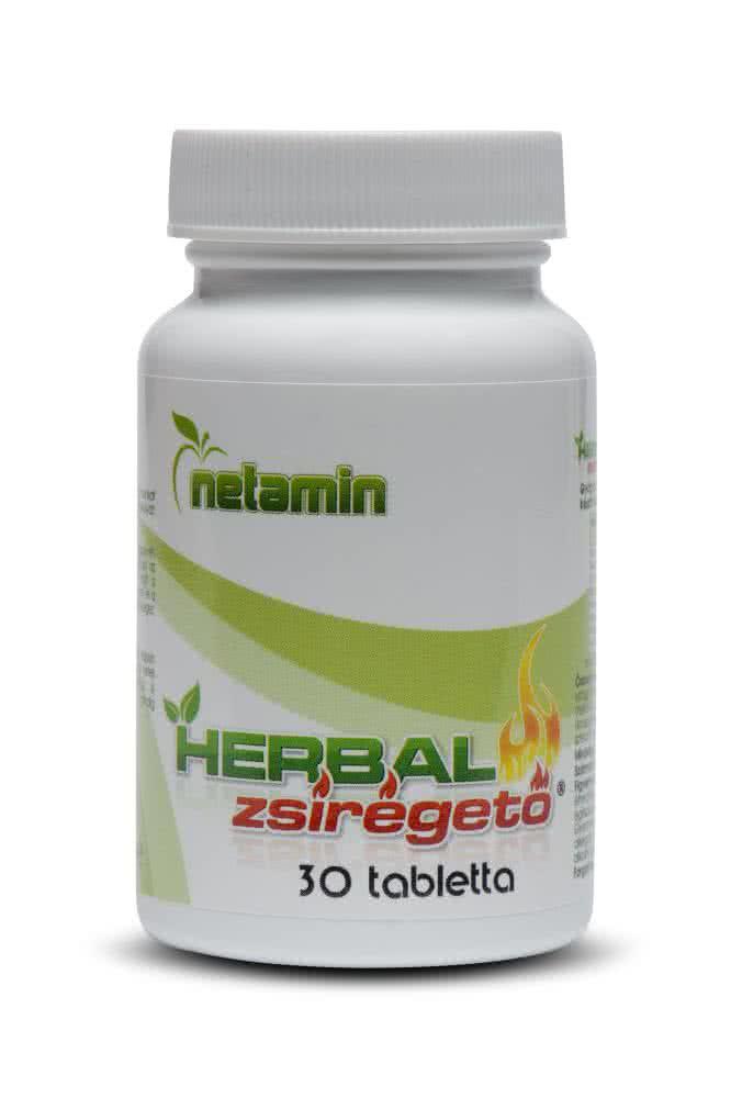 Netamin Herbal Fat Burner 30 caps