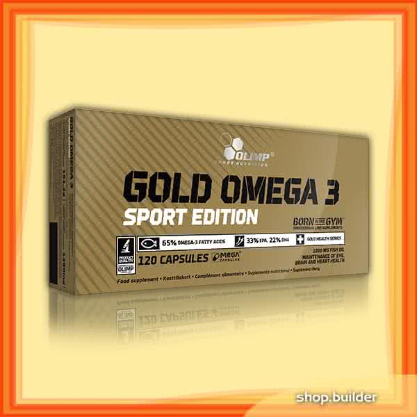Olimp Sport Nutrition Gold Omega-3 Sport Edition 120 caps
