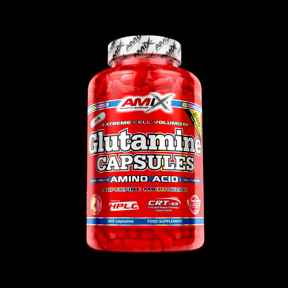 Amix L-Glutamine Caps 120 caps