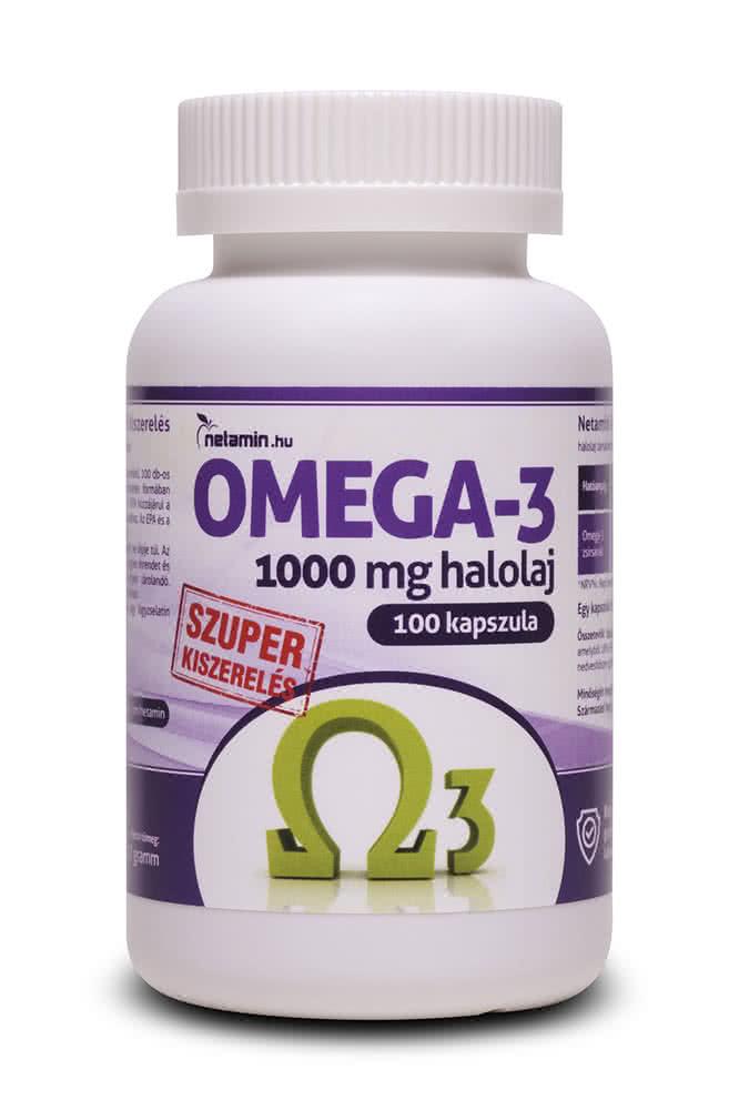 Netamin Omega-3 100 caps