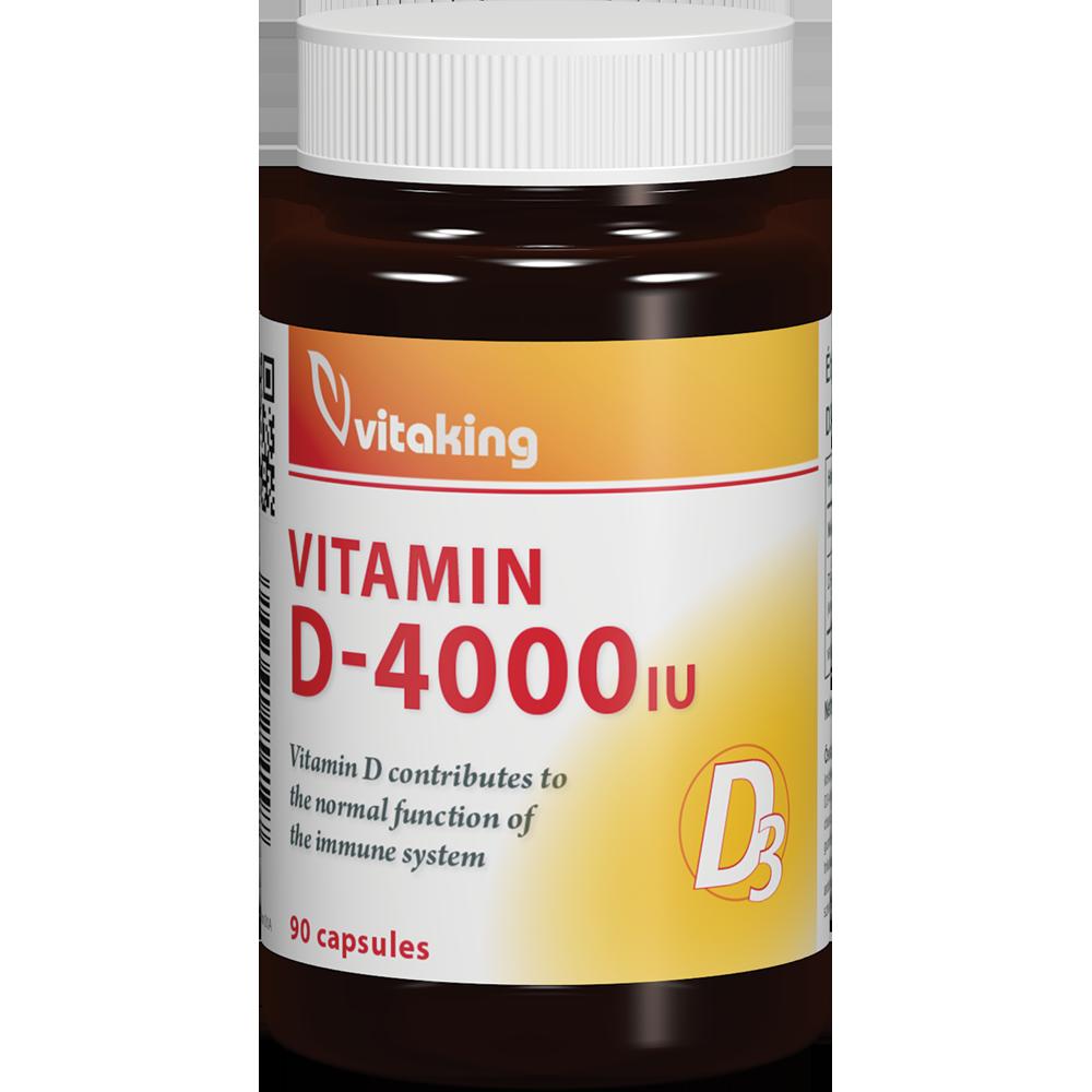 VitaKing Vitamin D-4000 90 caps