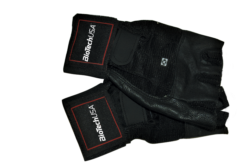 BioTech USA Training gloves w. wrist wraps Houston pair