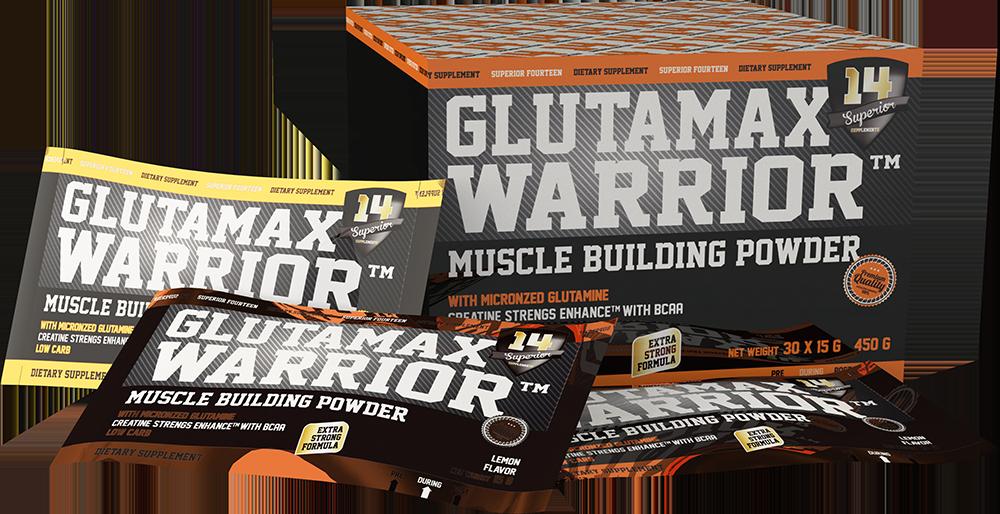 Superior 14 Glutamax Warrior 30 pak.
