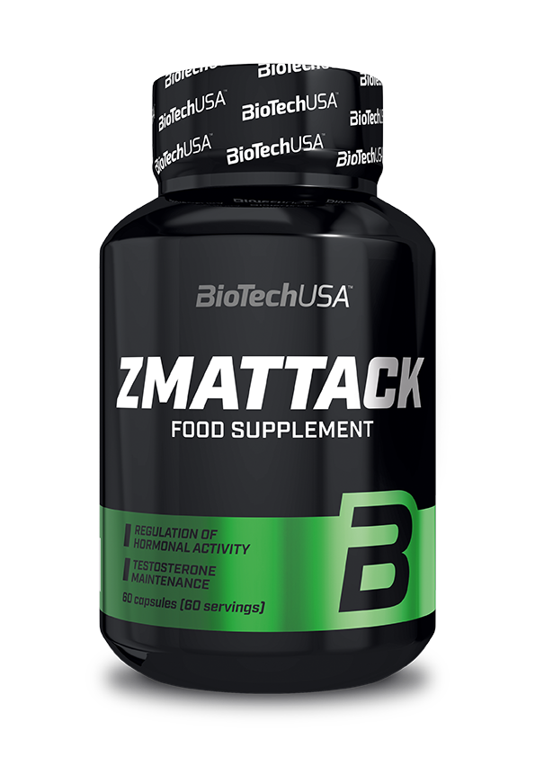 BioTech USA ZMAttack 60 caps