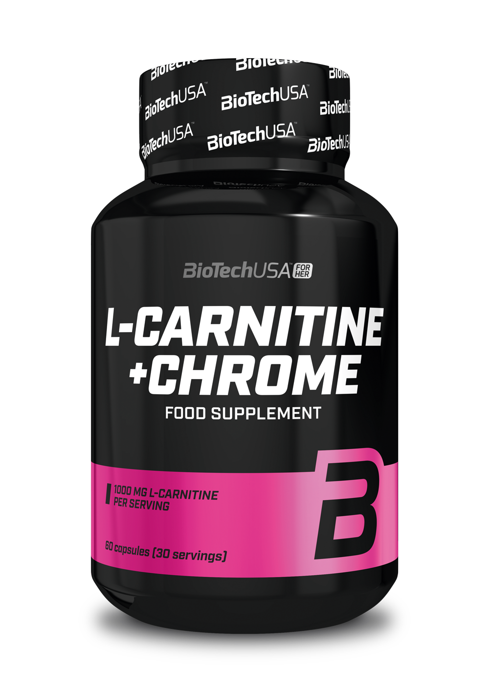 BioTech USA L-Carnitine + Chrome for Her 60 caps