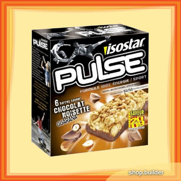 Isostar Pulse Energy Bar 6x23 g