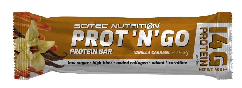 Scitec Nutrition Prot`n`go Bar 45 gr.