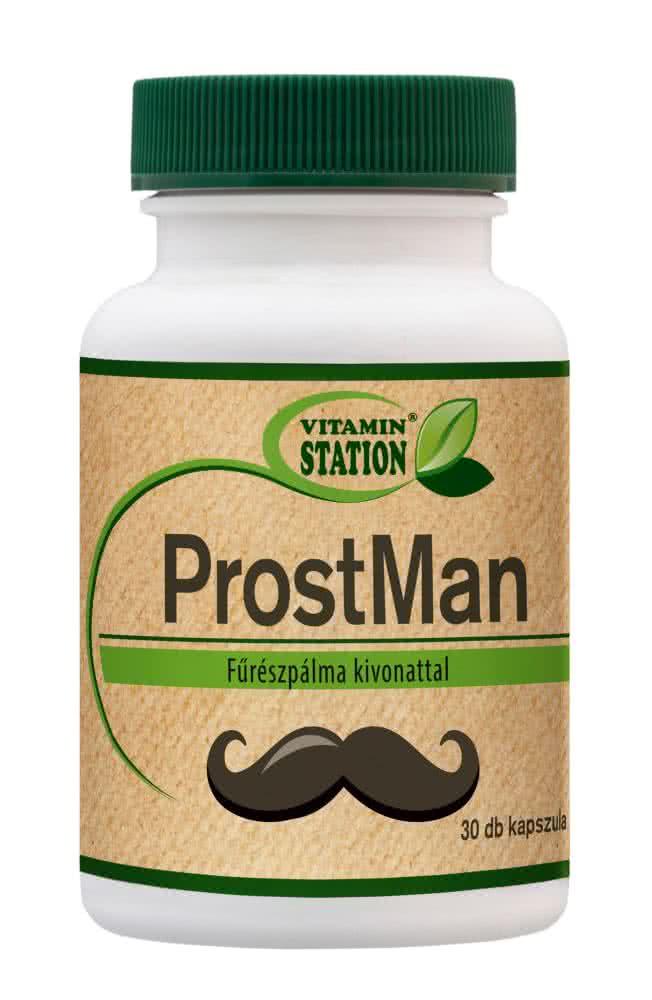 Vitamin Station ProstMan 30 caps