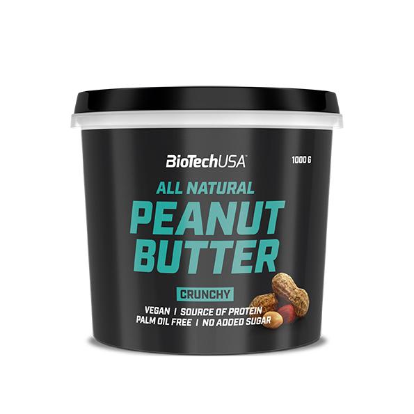 BioTech USA All Natural Peanut Butter 1000 gr.