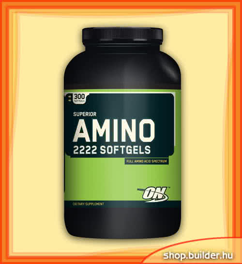 Optimum Nutrition Amino 2222 Softgels 300 g.c.