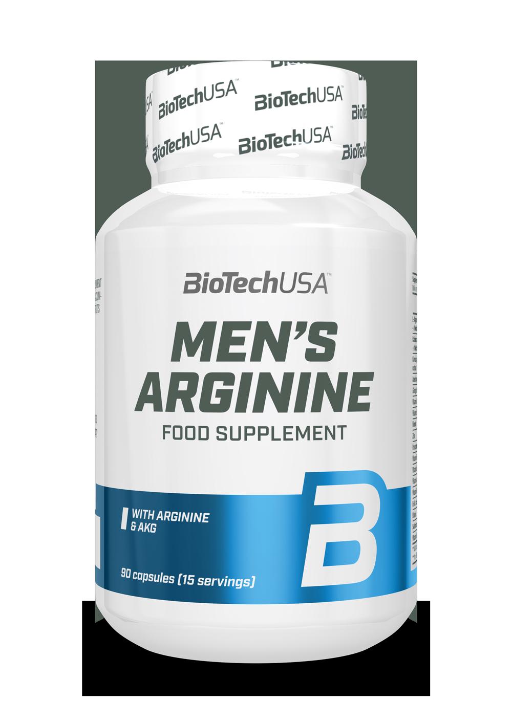 BioTech USA Mens Arginine 90 caps