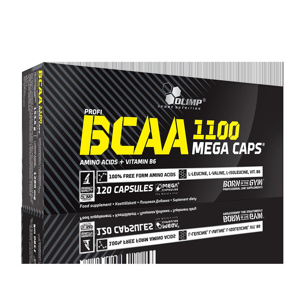 Olimp Sport Nutrition BCAA Mega Caps 120 caps
