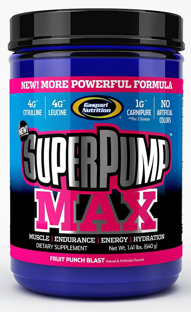 Gaspari Nutrition SuperPump MAX 640 gr.