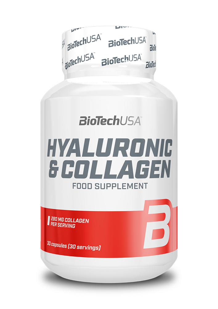 BioTech USA Hyaluronic & Collagen 30 caps