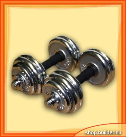 Other home gym Chrome Dumbbell set 2x14,5kg set