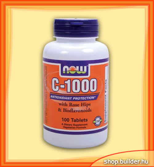 Now Foods C-1000 with Rose Hips & Bioflavonoids 100 tab.