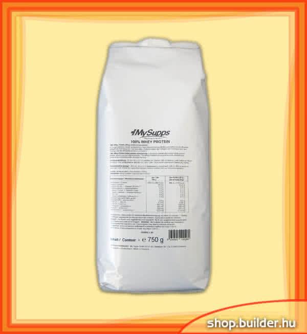 MySupps 100% Whey Protein 0,75 kg