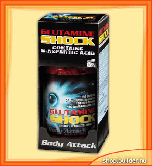 Body Attack Glutamine Shock 80 caps