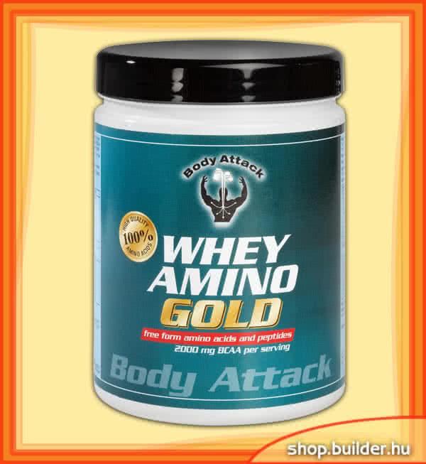 Body Attack Whey Amino Gold 325 tab.