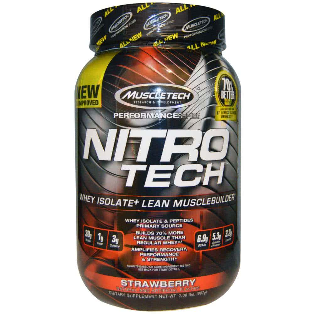 MuscleTech Nitro-Tech Performance Series 0,907 kg