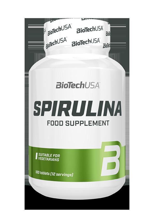 BioTech USA Spirulina 100 tab.
