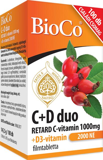 BioCo D3-vitamin Forte 4000IU tabletta